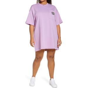 ナイキ NIKE レディース ワンピース Tシャツワンピース ワンピース・ドレス Sportswear T-Shirt Dress Fuchsia Glow/Black|ef-3