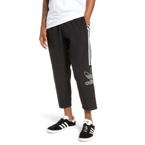 アディダス ADIDAS ORIGINALS メンズ クロップド ボトムス・パンツ Outline Cropped Pants|ef-3