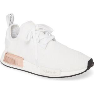 アディダス ADIDAS レディース スニーカー シューズ・靴 NMD R1 Athletic Shoe White/Core Black ef-3