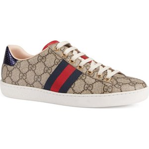 グッチ GUCCI レディース スニーカー シューズ・靴 New Ace GG Supreme Sneaker|ef-3