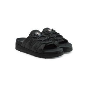 モンクレール メンズ サンダル シューズ・靴 Fabric Sandals black ef-3