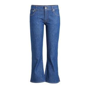 カルヴェン レディース ジーンズ・デニム ボトムス・パンツ Cropped Jeans blue|ef-3