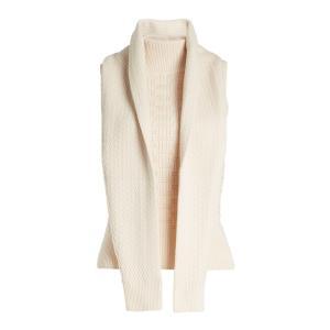 カルヴェン レディース ニット・セーター トップス Turtleneck Knit in Cotton and Wool beige|ef-3