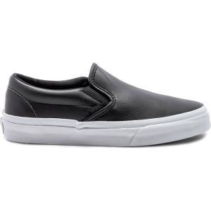 ヴァンズ レディース スリッポン・フラット シューズ・靴 Slip-On Black|ef-3