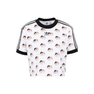 アディダス ADIDAS x FIORUCCI レディース Tシャツ トップス t-shirt White ef-3