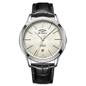 ロータリー メンズ 腕時計 Rotary Les Originales Tradition Black Leather|ef-3
