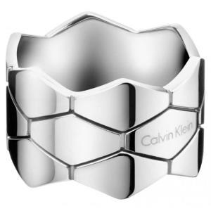 カルバンクライン Calvin Klein レディース アクセサリー 指輪 Calvin Klein Jewellery Tripple Snake Stainless Steel Ring|ef-3