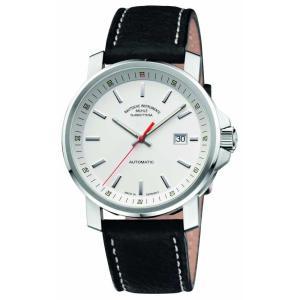 ミューレ グラスヒュッテ メンズ 腕時計 アクセサリー Muhle Glashutte 29er Big Leather Band White Dial ef-3