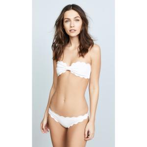 マルシア スイム レディース トップのみ 水着 Antibes Scallop Bikini Top Coconut|ef-3