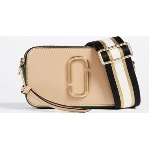 マーク ジェイコブス Marc Jacobs レディース ショルダーバッグ バッグ Snapshot Cross Body Bag Sandcastle Multi|ef-3