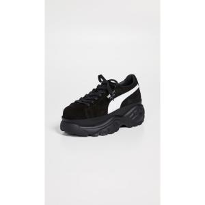 プーマ PUMA レディース スニーカー シューズ・靴 Suede Buffalo Sneakers Puma Black|ef-3