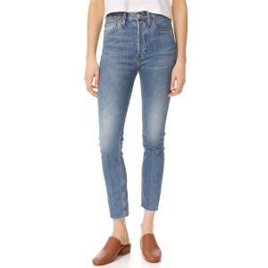 リダン レディース ジーンズ・デニム ボトムス・パンツ High Rise Ankle Crop Jeans Med. Vain|ef-3