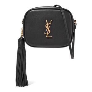 イヴ サンローラン レディース ショルダーバッグ バッグ Monogramme Blogger leather shoulder bag|ef-3