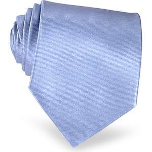 フォルツィエリ Forzieri メンズ ネクタイ Shimmering Solid Sky Blue Textured Silk Tie Sky Blue|ef-3