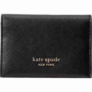 ケイト スペード Kate Spade New York レディース カードケース・名刺入れ 二つ折り Spencer Bifold Card Case Black|ef-3