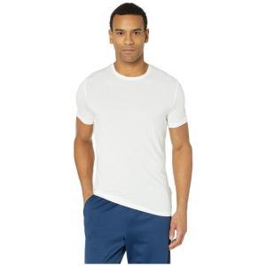 カルバンクライン Calvin Klein Underwear メンズ Tシャツ トップス Ultra Soft Modal Short Sleeve Crew Neck T-Shirt White|ef-3