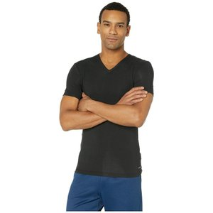カルバンクライン Calvin Klein Underwear メンズ Tシャツ Vネック トップス Ultra Soft Modal Short Sleeve V-Neck T-Shirt Black|ef-3