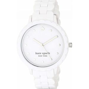 ケイト スペード Kate Spade New York レディース 腕時計 Morningside Watch - KSW1607 White|ef-3