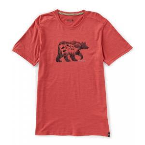 スマートウール SmartWool メンズ Tシャツ トップス Merino Sport 150 Bear Camp Short-Sleeve Tee Earth Red Heather|ef-3