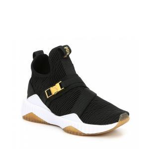 プーマ Puma レディース スニーカー シューズ・靴 Defy Mid Varsity Sneakers Black|ef-3