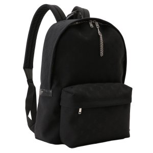 【即納】セリーヌ Celine ユニセックス バックパック・リュック バッグ Triomphe Logo Print Backpack 188382CED Black マカダム柄 総柄 トリオンフ ジャカード|ef-3