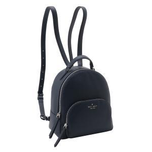 【即納】ケイト スペード Kate Spade レディース バックパック・リュック バッグ Jackson Medium Backpack Wkru5946 Navy ジャクソン 無地|ef-3