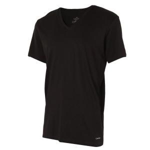 【即納】カルバンクライン Calvin Klein メンズ Tシャツ トップス 3枚セット Cotton Classic S/S V-Neck 3-Pack M4065 White/Black/Grey|ef-3
