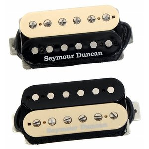 Seymour Duncan Pearly Gates Humbucker Pickup Set - Zebra セイモアダンカン 並行輸入品 effectermania