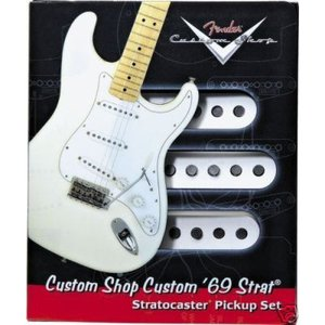 Fender Custom Shop '69 Stratocaster Pickup set|フェンダー