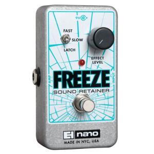 Electro-Harmonix Freeze|国内用電源アダプター付属|フリーズ|並行輸入品|effectermania
