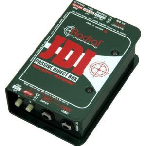 Radial JDI MK3|パッシブ・ダイレクトボックス|並行輸入品|effectermania