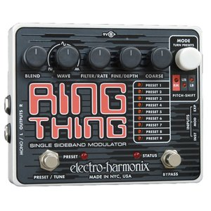 Electro-Harmonix Ring Thing|国内用電源アダプター付属|リングモジュレーター|並行輸入品|effectermania