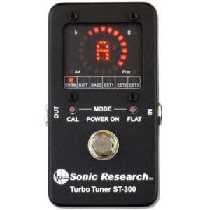 Sonic Research ST-300 Stompbox Strobe Tuner チューナー effectermania