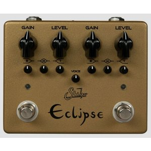 Suhr Eclipse Dual Channel Limited Edition Gold オーバードライブ 並行輸入品 effectermania