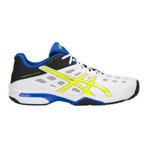 シューズ メンズ テニス ASICS(アシックス) TLL771プレステージライト OC ワイド テニスシューズ オムニ クレーコート 兼用 軽量スピードモデル ワイドタイプ|effective-sports