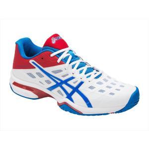 シューズ メンズ レディース テニス ASICS(アシックス) TLL779 PRESTIGELYTE(R)AC-wide プレステージライト テニスシューズ オールコート用|effective-sports