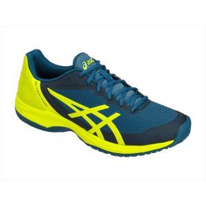 シューズ メンズ テニス ASICS(アシックス) TLL798 テニスシューズ ゲルコートスピード クッション性 耐久性 安定性 4589|effective-sports
