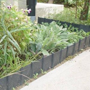 [サンカ] 土のストッパー 20枚組 GT-0520 *【花壇 仕切り 土留め 囲い フェンス 庭 ...