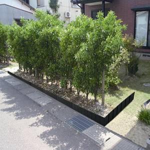 [サンカ] 土のストッパー ワイド 2枚組 GT-0530 *【花壇 仕切り 土留め 囲い フェンス...