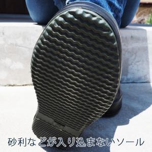 ガーデンシューズ おしゃれ 農作業 monkuwa モンクワ アグリショートブーツ MK36141 レディース ショートブーツ|efiluz|03