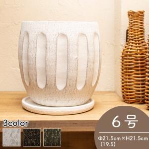 お家を飾る植木鉢「テノンボール」 アンティークで高級な雰囲気を作り上げます。  3カラーからお選び頂...