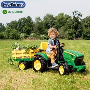 ペグペレーゴ 電動バッテリー トラクター ジョンディア John Deere グランドフォース IGOR0047 組立要 乗用玩具 乗り物 子ども プレゼント ギフト T志 代引不可 efiluz