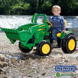 ペグペレーゴ 電動バッテリー トラクター ジョンディア John Deere グランドローダー IGOR0068 組立要 乗用玩具 乗り物 子ども プレゼント ギフト T志 代引不可 efiluz