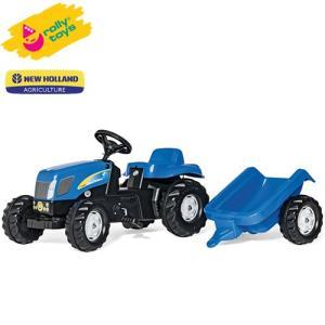 ローリートイズ 足こぎトラクター New Holland KID RT013074 組立要 Rolly toys 足けり 乗用玩具 乗り物 子ども プレゼント ギフト T志 代引不可 efiluz