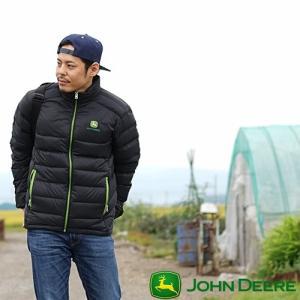 John Deere ジョンディア ダウンジャケット LP-0010-BK 冬 暖かい 農業 メンズ 男性用 アウター ヤッケ 農作業 かっこいい おしゃれ 農作業着 T志 代引不可 efiluz