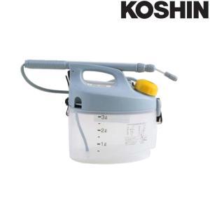 乾電池式噴霧器 ガーデンマスター GT-3S 容量3L 霧状・直射 洗浄スイッチ付 重量1.1kg 工進 KOSHIN 殺虫 殺菌 散布 散水 シB 代引不可|efiluz