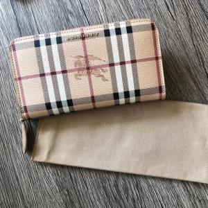 BURBERRY バーバリーチェック ラウンドジップ長財布  サイズ:横 19.0cm 高さ 10....