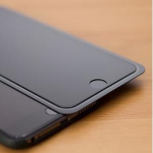 iPhone6/6s 用 3Dフルカバー 液晶保護強化ガラス(ブラック) egadget-online