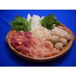 川俣シャモ 軍鶏鍋セット (2〜3人前) 地鶏 なべ ふくしまプライド。体感キャンペーン(お肉)|egao-fukushima|03