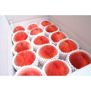 福島 桃源郷の桃 4kg 12〜13玉  もも 畑から直送 完熟 フルーツ 「ふくしまプライド。体感キャンペーン(果物」|egao-fukushima